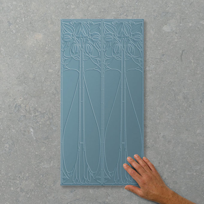 Picture of Adorn Augusta French Blue (Satin) 600x300 (Rectified)