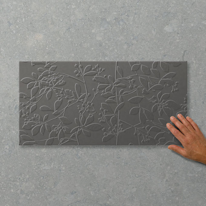 Picture of Adorn Eden Charcoal (Satin) 600x300 (Rectified)