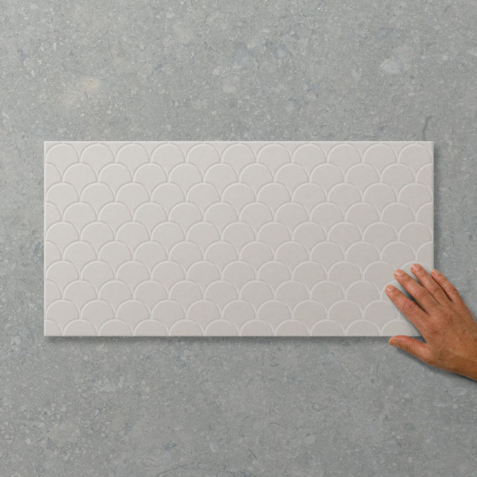 Picture of Adorn Fan Pumice (Satin) 600x300 (Rectified)