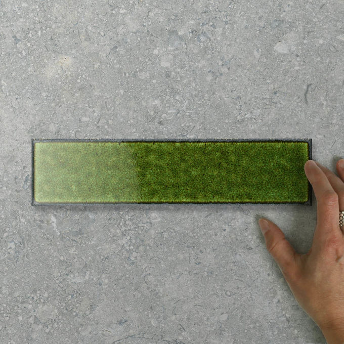Picture of Silvia Brick Forest (Gloss) 300x75 (Rectified)