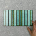 Picture of Silvia Fingers (150x22) Seagrass (Gloss) 275x150 (Rectified)