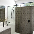 Picture of Silvia Brick Pewter (Gloss) 300x75 (Rectified)
