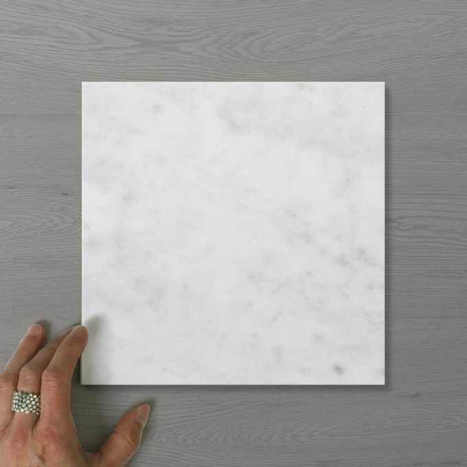 Picture of Marmo Square Carrara (Honed) 200x200 (Rectified)