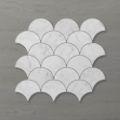 Picture of Marmo Fan (90x80) Carrara (Honed) 290x290 Sheet (Rectified)