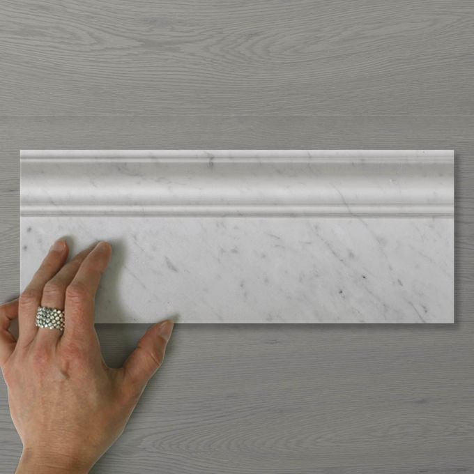 Picture of Marmo Skirting Carrara (Honed) 300x120 (Rectified)