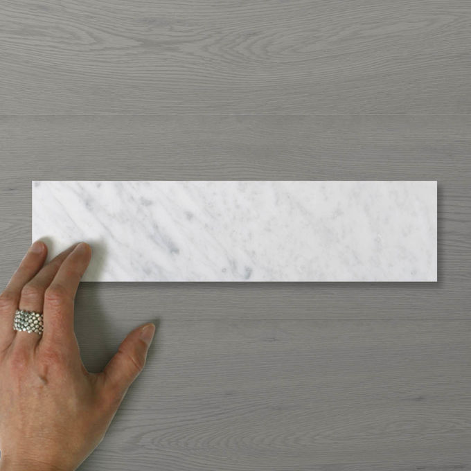 Picture of Marmo Brick Carrara (Honed) 300x75 (Rectified)