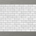 Picture of Marmo Brick (100x50) Carrara (Honed) 300x300 Sheet (Rectified)