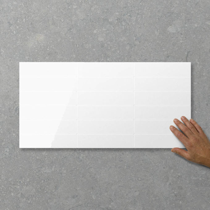 Picture of Adorn Blocco Milk (Satin / Gloss) 600x300 (Rectified)
