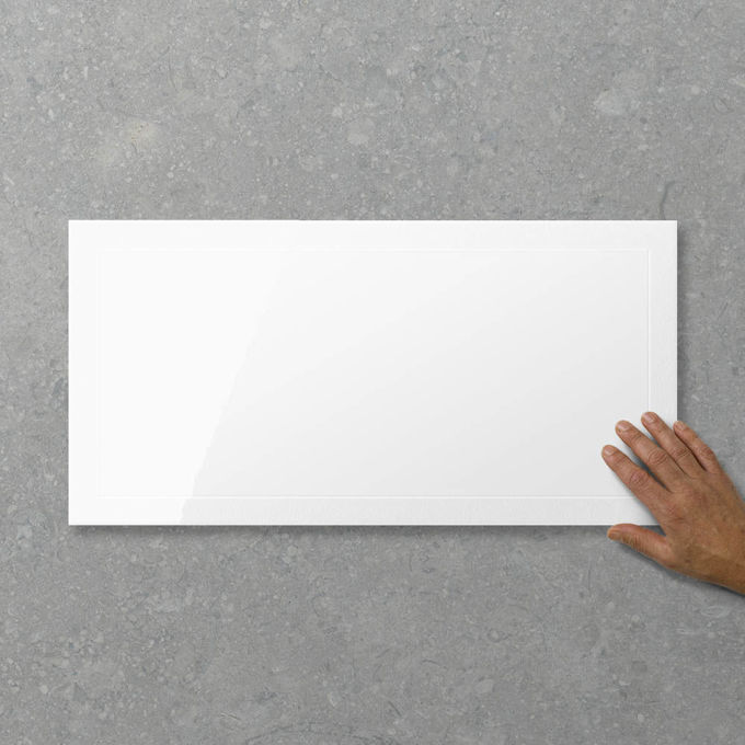 Picture of Adorn Whitehall Milk (Satin / Gloss) 600x300 (Rectified)