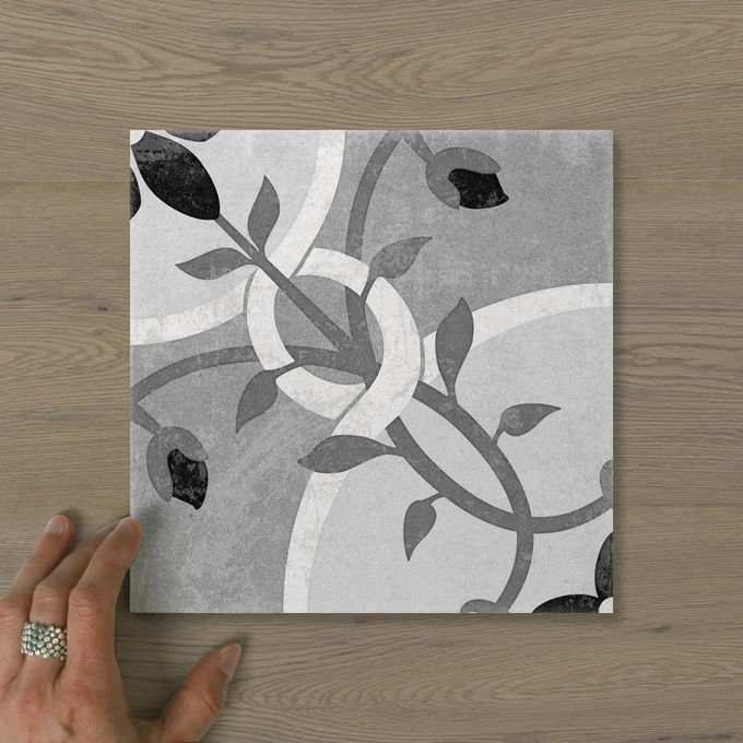 Picture of Antica Lush Charcoal (Matt) 200x200 (Rectified)