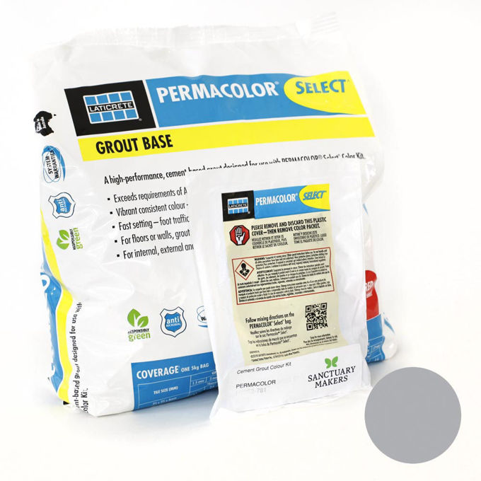 Picture of PERMACOLOR SELECT 5KG Dove Colour Grout  Kit