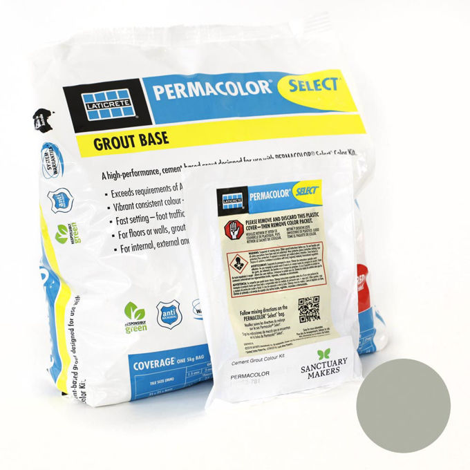 Picture of PERMACOLOR SELECT 5KG Fern Colour Grout Kit