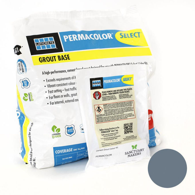 Picture of PERMACOLOR SELECT 5KG French Blue Colour Grout Kit