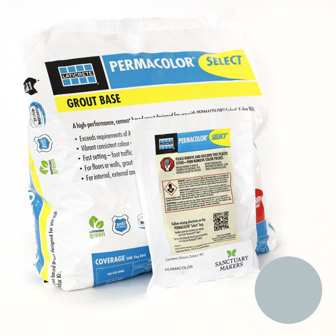 Picture of PERMACOLOR SELECT 5KG Millpond Colour Grout Kit