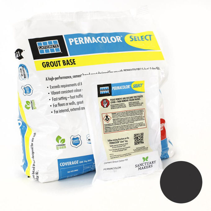Picture of PERMACOLOR SELECT 5KG Pepper Colour Grout Kit