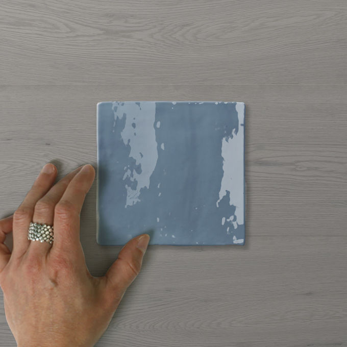 Picture of Zelo Casa French Blue (Gloss) 130x130 (Rustic)