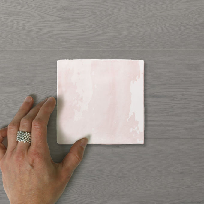 Picture of Zelo Casa Icy Pink (Gloss) 130x130 (Rustic)