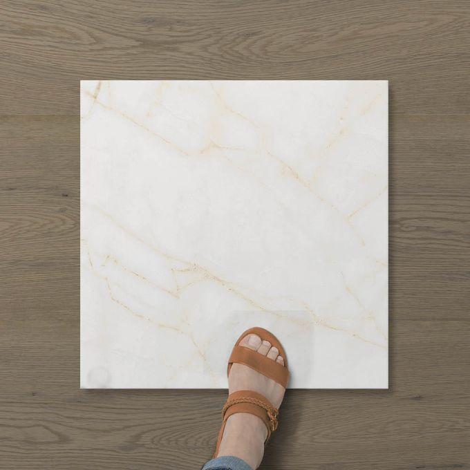 Picture of Aphrodite Statuario Gilded (Matt) 450x450 (Rounded)