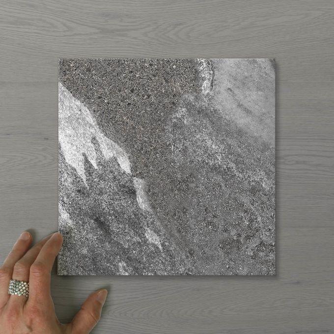 Picture of Pietra Ravine Flint (Matt) 200x200 (Rectified)