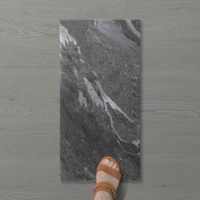 Picture of Pietra Ravine Wrought iron (Matt) 600x300 (Rounded)