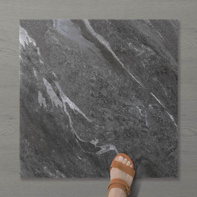 Picture of Pietra Ravine Wrought iron (Matt) 600x600 (Rounded)