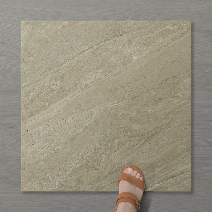 Picture of Pietra Tanamai Khaki (Matt) 600x600 (Rectified)