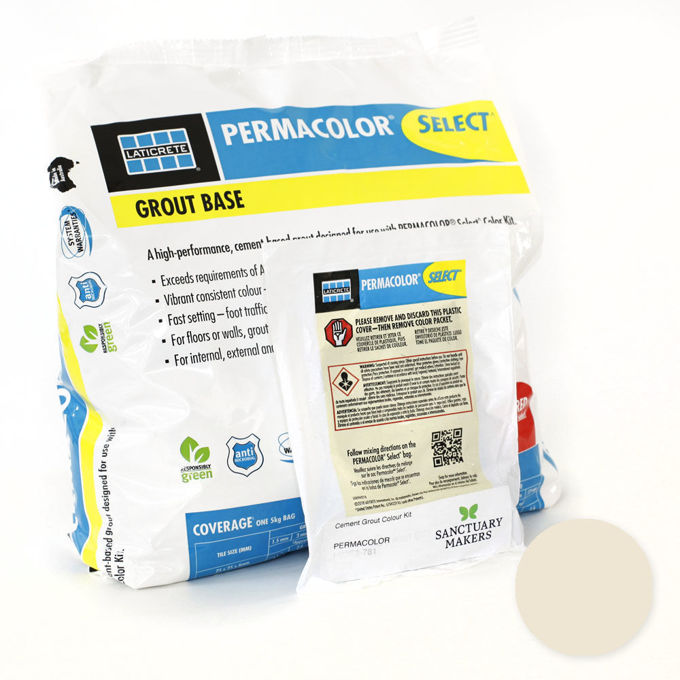 Picture of PERMACOLOR SELECT 5KG Almond Grout Kit