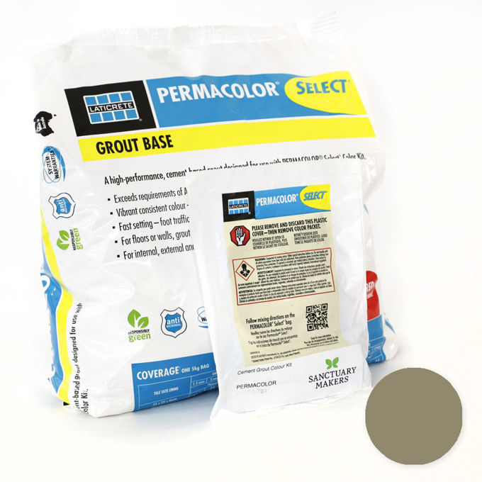 Picture of PERMACOLOR SELECT 5KG Autumn Green Grout Kit