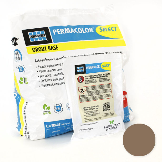 Picture of PERMACOLOR SELECT 5KG Chocolate Truffle Grout Kit