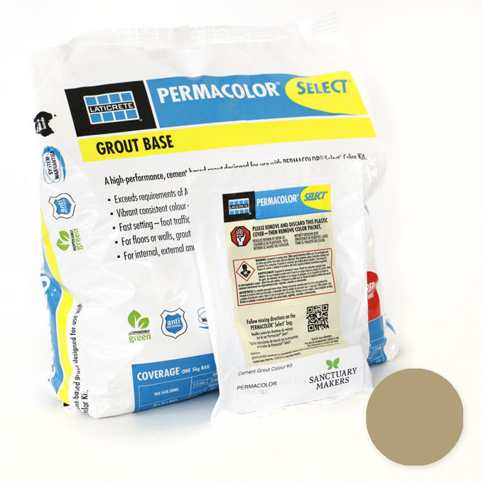 Picture of PERMACOLOR SELECT 5KG Desert Khaki Grout Kit