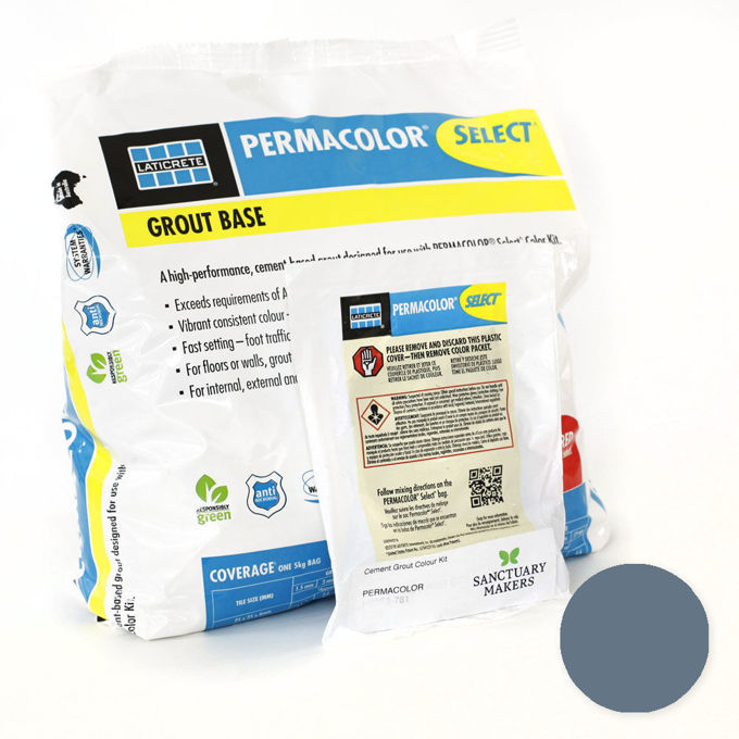 Picture of PERMACOLOR SELECT 5KG Twilight Blue Grout Kit