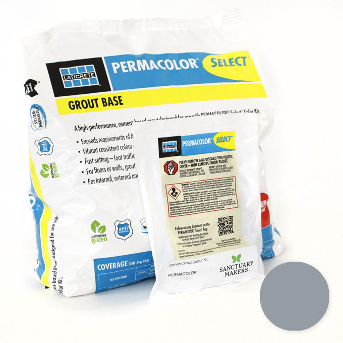 Picture of PERMACOLOR SELECT 5KG Slate Grey Grout Kit