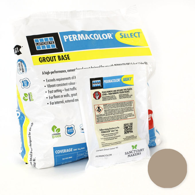 Picture of PERMACOLOR SELECT 5KG Hot Cocoa Grout Kit